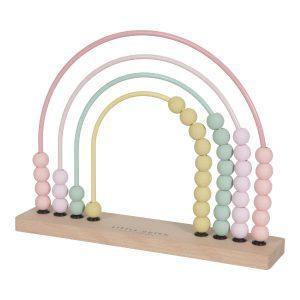 LITTLE-DUTCH-telraam-HOUT-ROZE-speelgoed