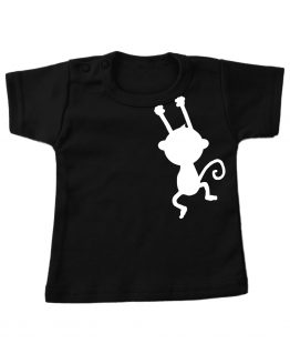 Tshirt_kort_Zwart-aapje